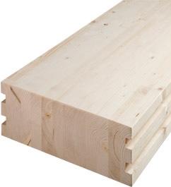 drewno konstrukcyjne klejone warstwowo Abies BSH